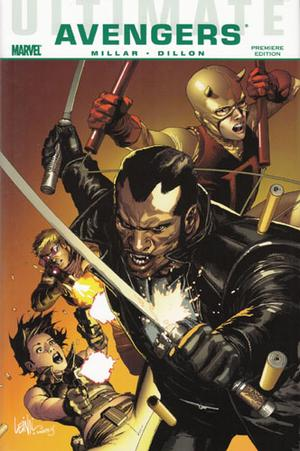Ultimate Comics Avengers: Blade vs the Avengers